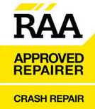 RAA approved repairer crash repairs