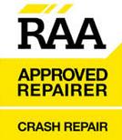 RAA approved repairer crash repairs
