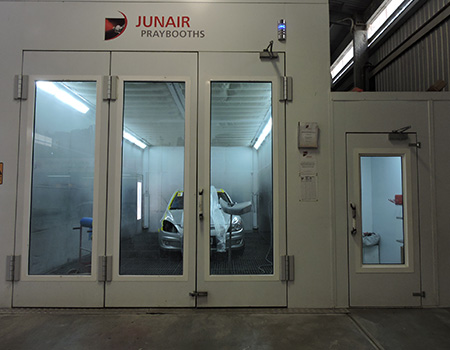 junair-spraybooth-gawler-bodyworks-south-australia-crash-repairs